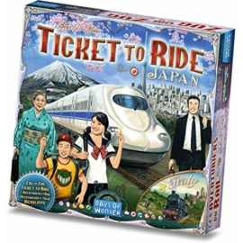 Ticket to Ride Map Collection: 7 - Japan/Italy