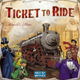 Ticket to Ride (skandináv kiadás, magyar szabállyal)