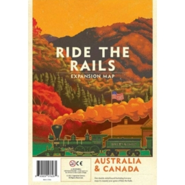 Iron Rail 2 Ride the Rails Australia & Canada Map