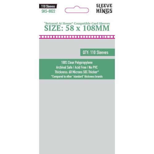 Sleeve Kings Betrayal at House (58x108mm, 110db/csomag)