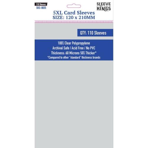 Sleeve Kings 5XL Kártyavédő (120x210mm, 110db/csomag)