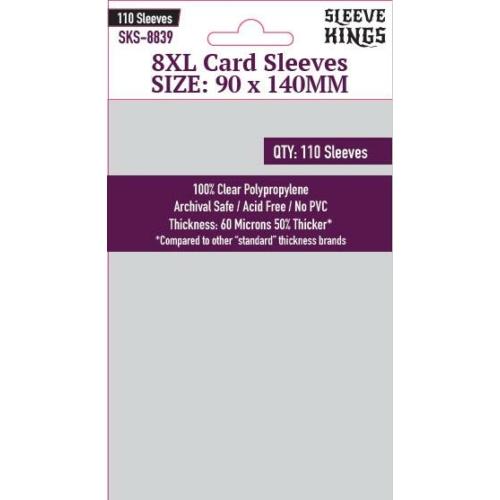 Sleeve Kings 8XL Kártyavédő (90x140mm, 110db/csomag)