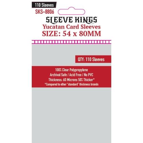Sleeve Kings Yucatan Kártyavédő (54x80mm, 110 db/csomag)