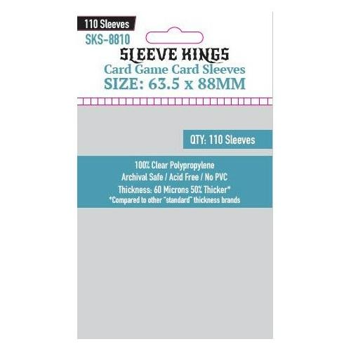 Sleeve Kings Card Game Kártyavédő (63.5x88mm,110 db/csomag)