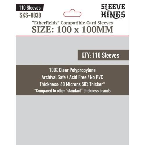 Sleeve Kings Etherfields Compatible Kártyavédő (100x100mm, 110db/csomag)