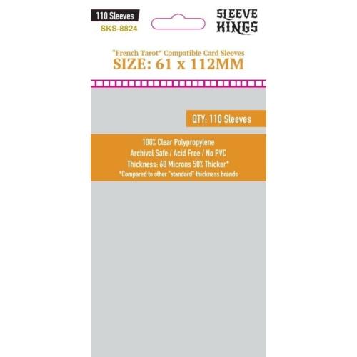 Sleeve Kings French Tarot Sleeves (61x112mm, 110db/csomag)