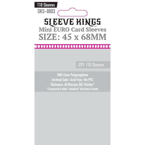 Sleeve Kings Mini Euro Kártyavédő (45x68mm, 110 db/csomag)