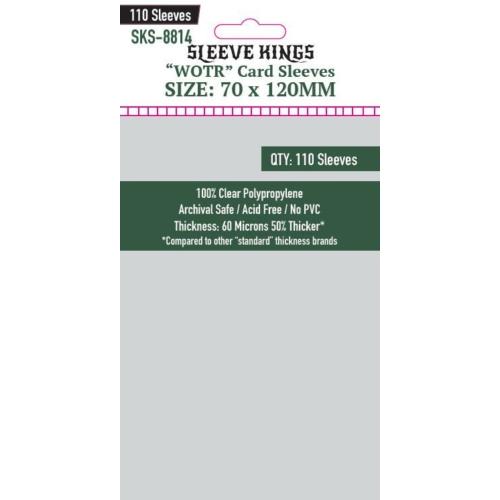 "Sleeve Kings ""WOTR-Tarot"" Kártyavédő (70x120mm, 110 db/csomag)"