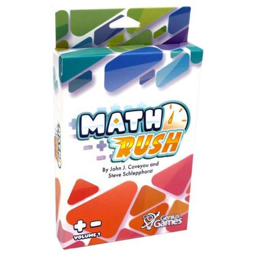 Math Rush Multiplication & Exponents
