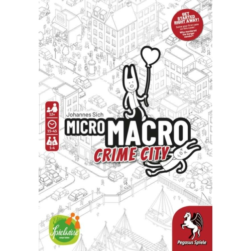 MicroMacro Crime City társasjáték