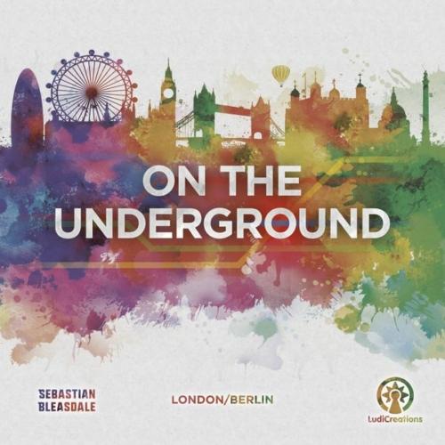On the Underground London/Berlin