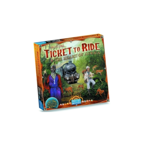 Ticket to Ride Map Collection: 3 -The Heart of Africa