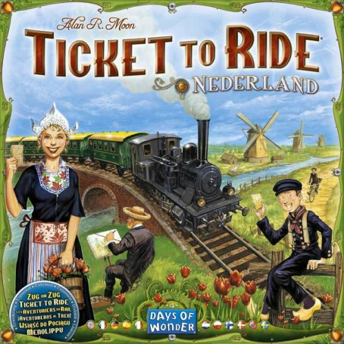 Ticket to Ride Map Collection: 4 -Nederland