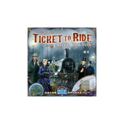 Ticket to Ride Map Collection: 5 - United Kingdom & Pennsylvania