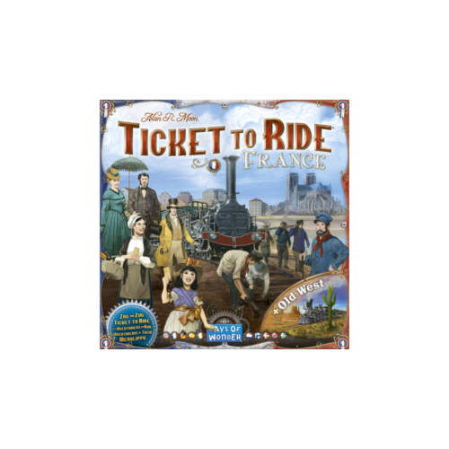 Ticket to Ride Map Collection: 6 - France + Old West