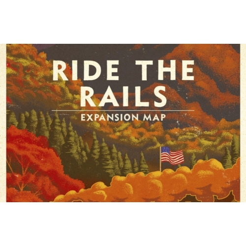 Ride the Rails France and Germany Map