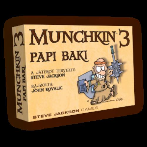 Munchkin 3. - Papi baki 2018